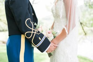 army-mess-blues-wedding-day-couple