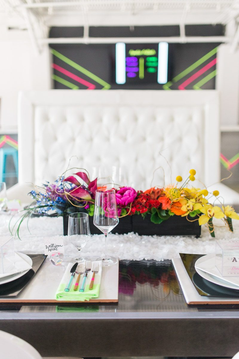 Bright Geometric City Wedding Inspiration at 433 Bishop in Atlanta ...