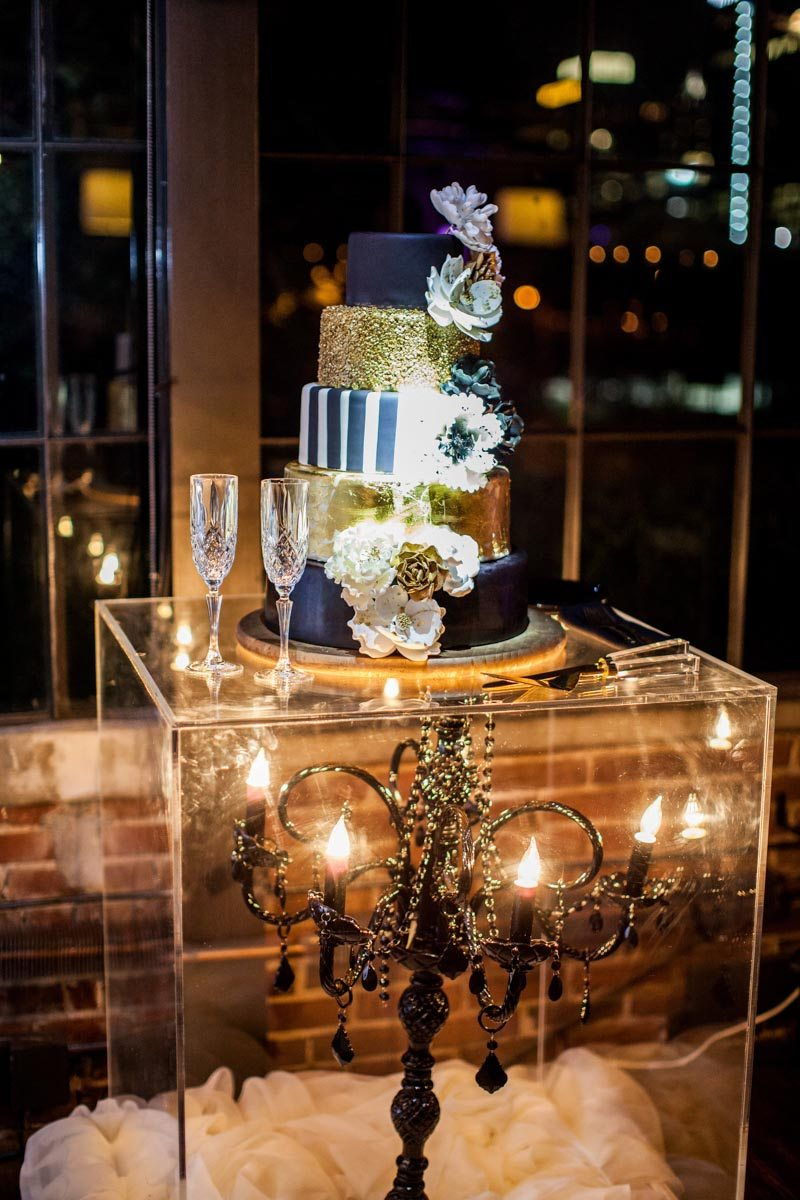 Glam chandelier filled wedding at summerour studio in atlanta ga about this post arubaitofo Images