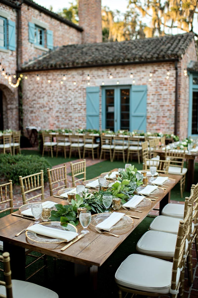 Casa Feliz Outdoor Wedding Reception Kristen Weaver Photography19