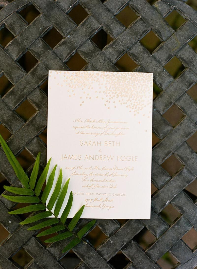Stylish Ivory And Gold Wedding At The Charles H Morris