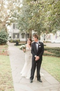 Stylish Ivory and Gold Wedding at Charles H. Morris Center in Savannah, GA