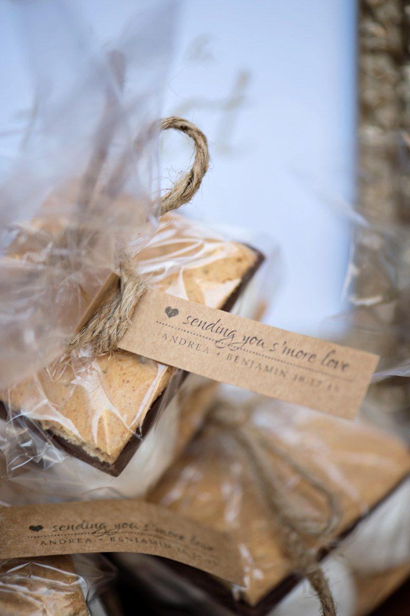 smores wedding favors-Kristen Weaver Photography14 - The Celebration ...