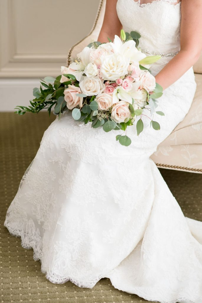Flower Filled Outdoor Wedding At Barnsley Gardens Resort