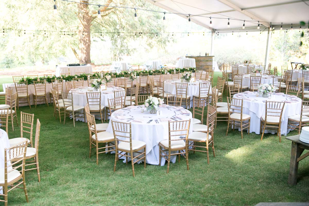 Flower Filled Outdoor Wedding At Barnsley Gardens Resort In