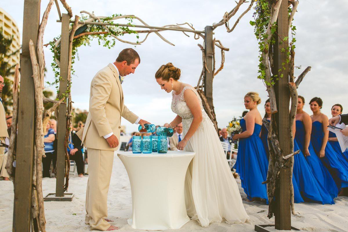Naples Florida Beach Weddings: Preppy Beach Wedding At LaPlaya Beach & Golf Resort In