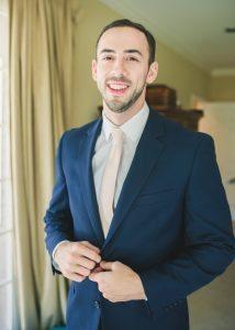 navy-suit-blush-tie-wedding-attire