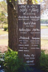 calligraphed-wooden-wedding-signage