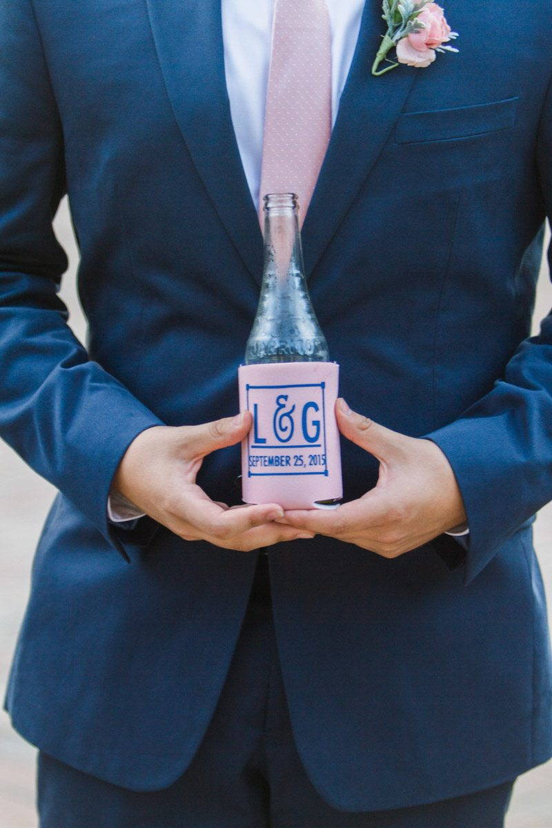 Preppy Pink and Navy Wedding at Crosswater Hall at Nocatee