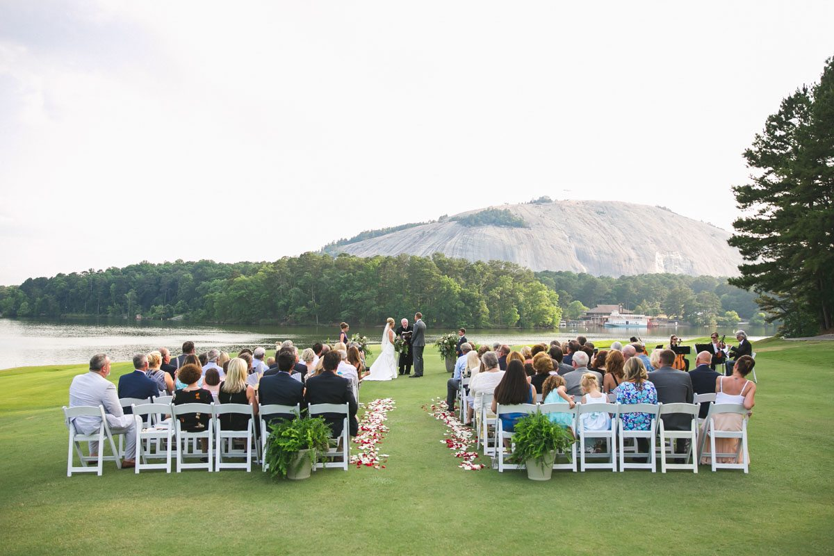 once in a lifetime stone mountain golf course wedding at atlanta