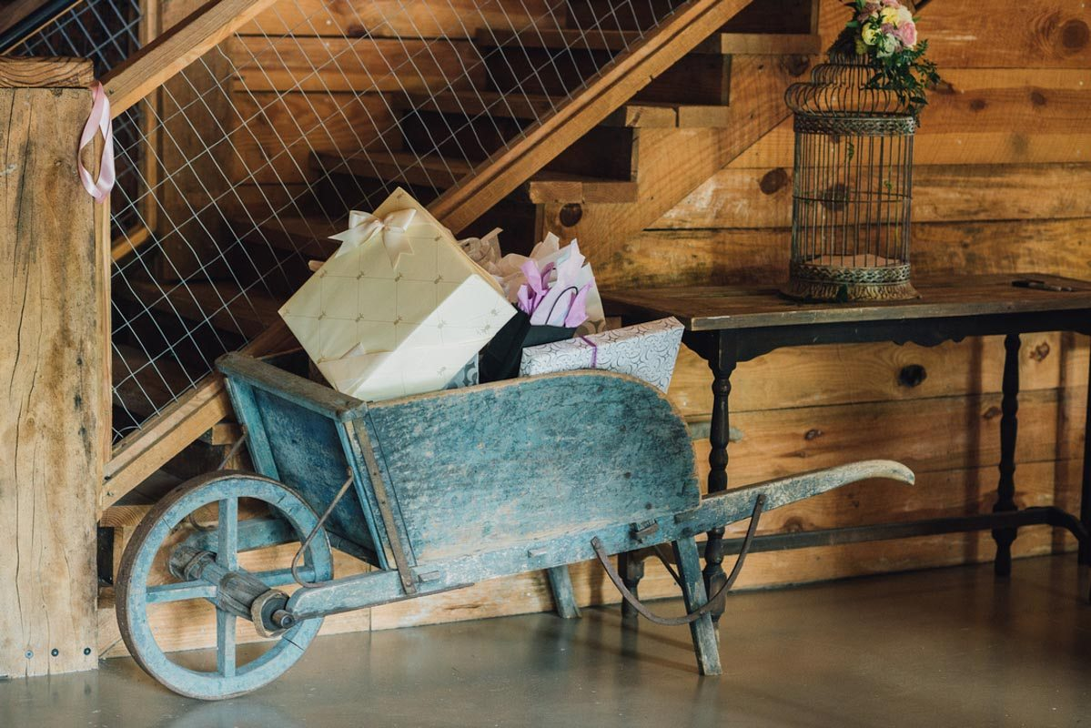 Neutral spring wedding at the variety works in madison ga the celebration society - Le petit jardin madison ga toulouse ...