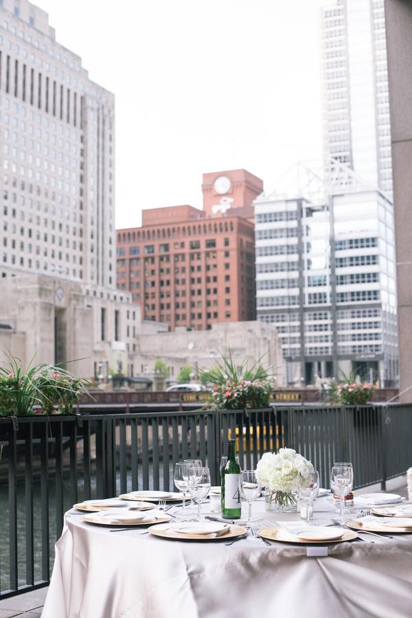 River's Restaurant wedding reception