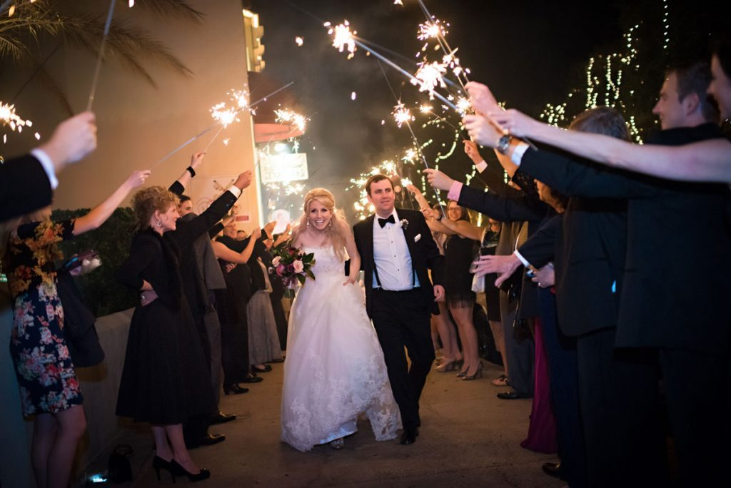 Nights of Lights Wedding at The Treasury on the Plaza in St ...