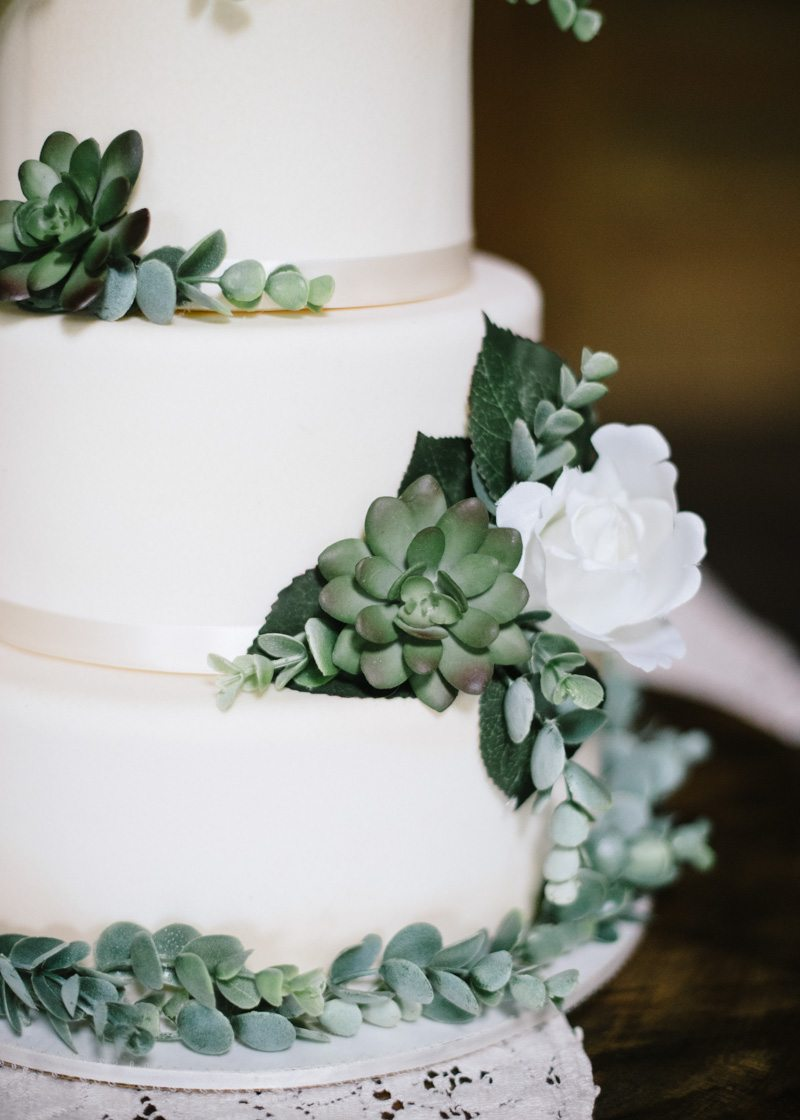Succulent Wedding Cake Accent_Champions Retreat Wedding Styled_Britt ...