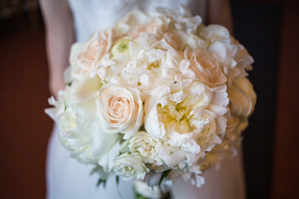 Off white wedding bouquet