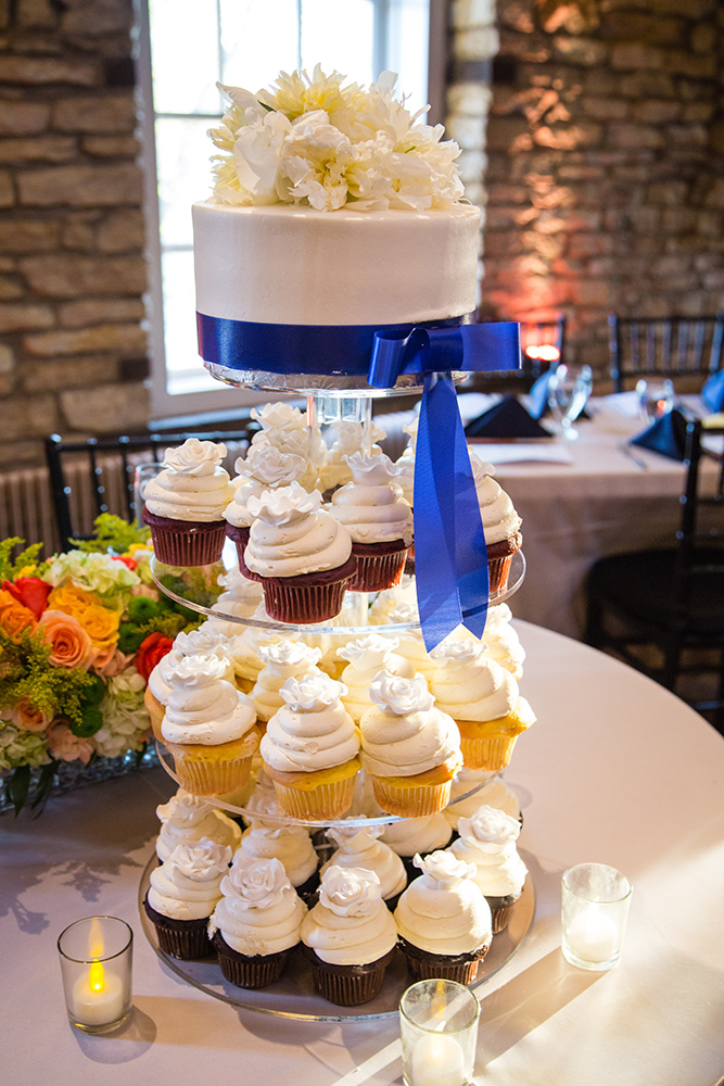 Cupake wedding cake tower