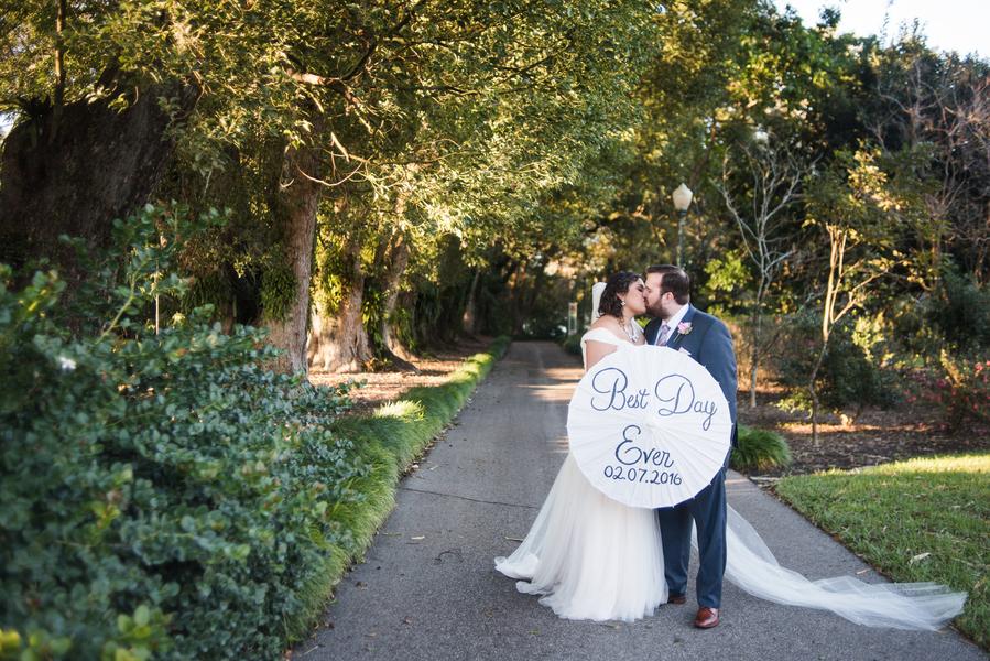 9a23f119f47b Chic Garden Wedding in Winter Park