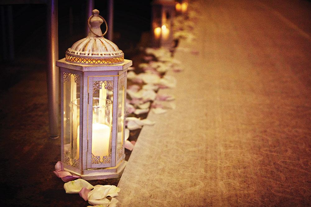 Lantern ceremony decor