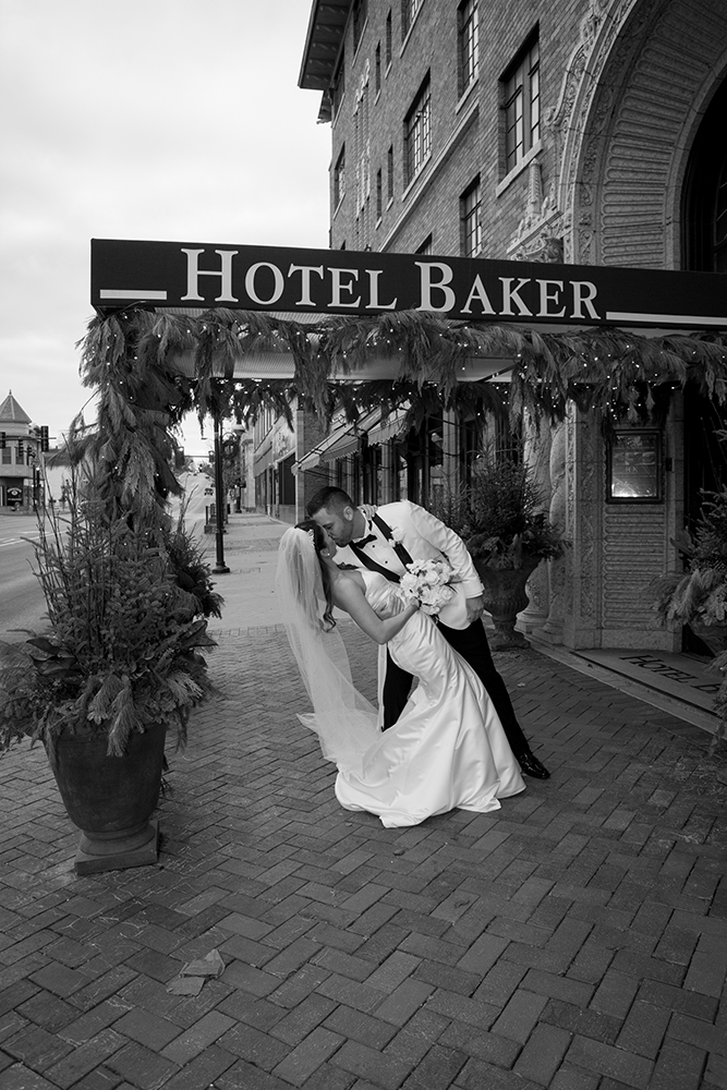Hotel Baker wedding