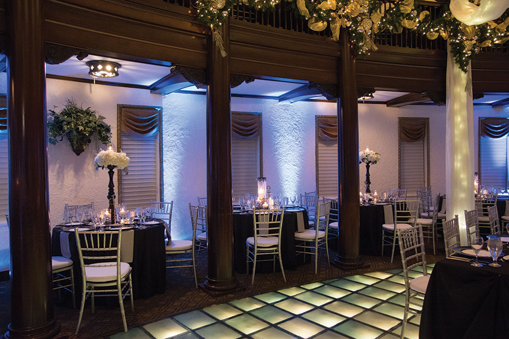 Hotel Baker wedding reception