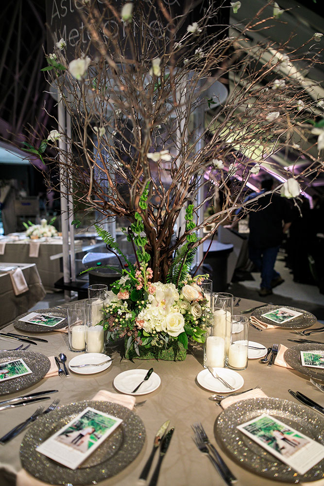 Neverland wedding centerpieces