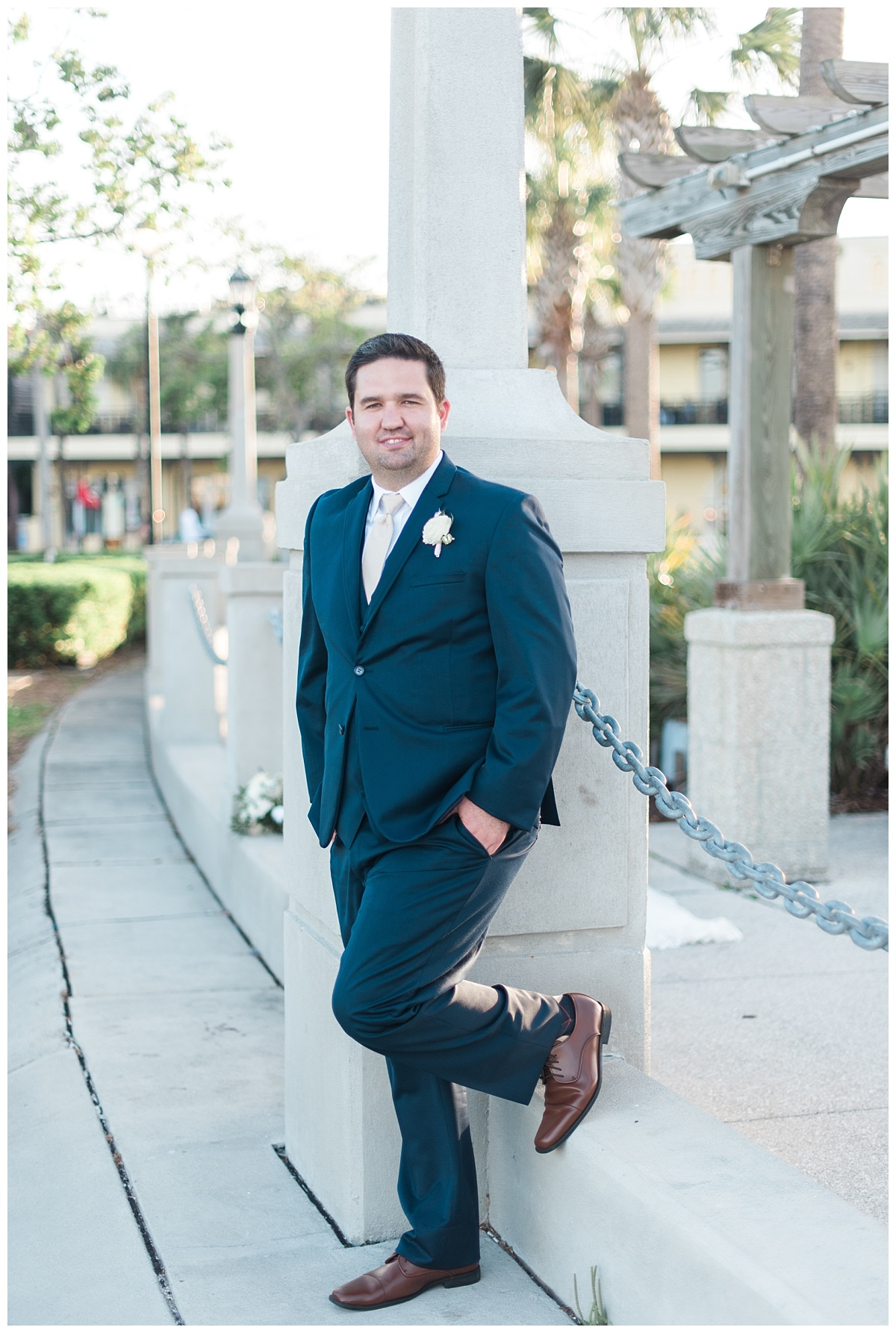 Ryan & Nicole | Elegant Wedding at The White Room | St. Augustine ...