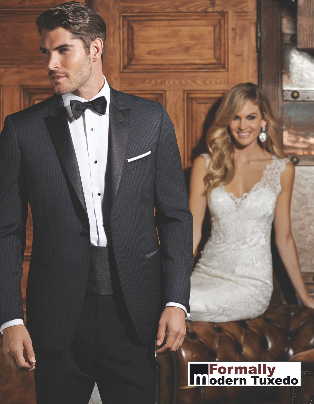 Formally Modern Tuxedo in Chicago, Illinois
