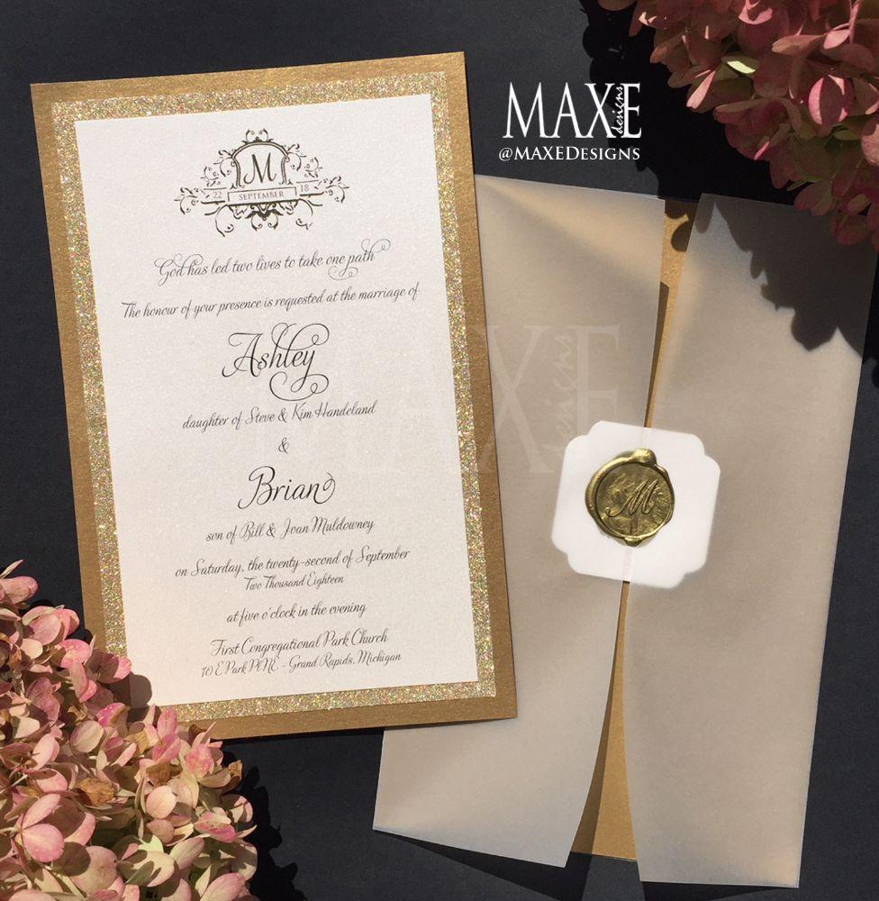 Maxe Designs LLC in Chicago, Illinois   Wedding Invitations   Wedding Invites