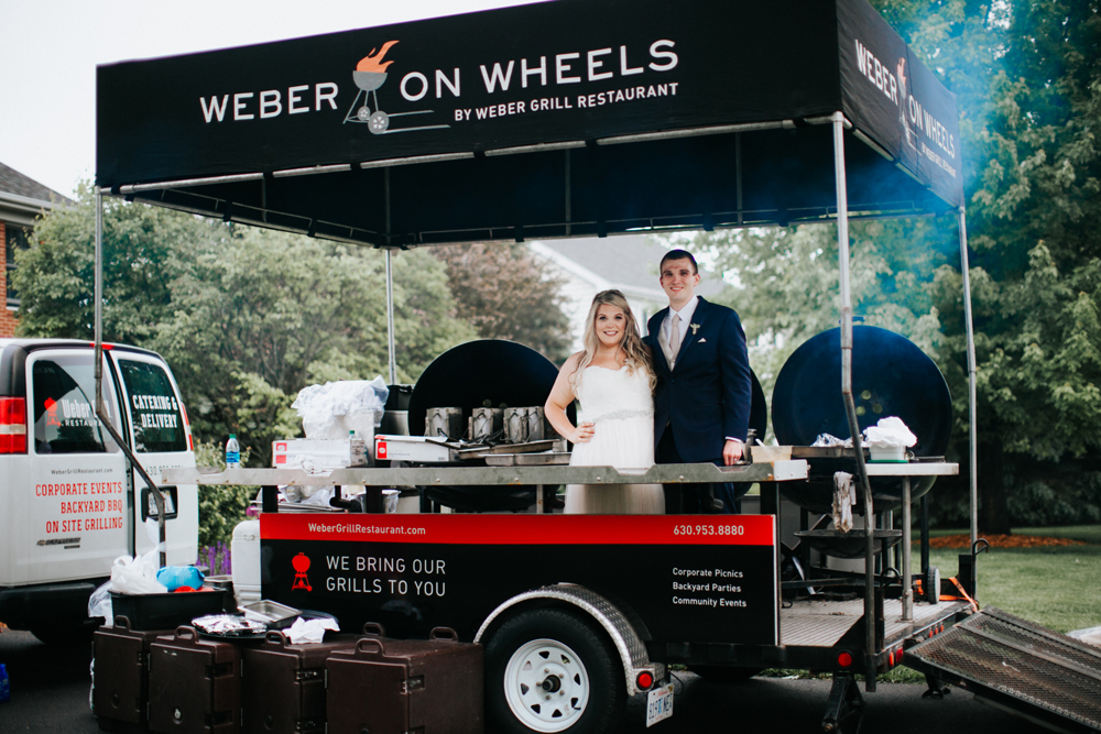 Weber Grill Catering in Rollling Meadows, Illinois