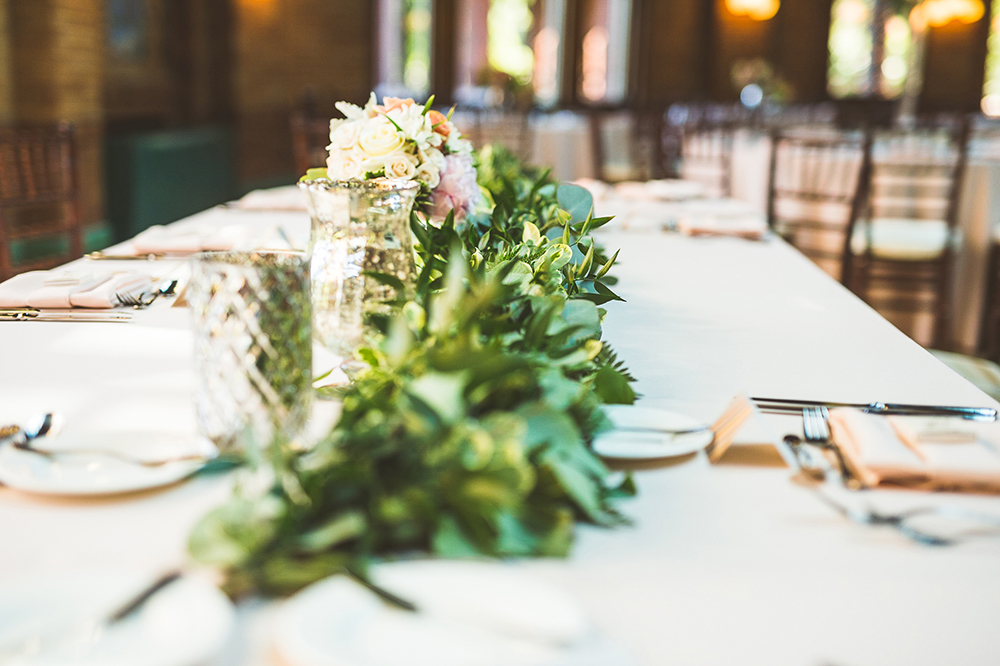 Lincoln Park wedding centerpieces