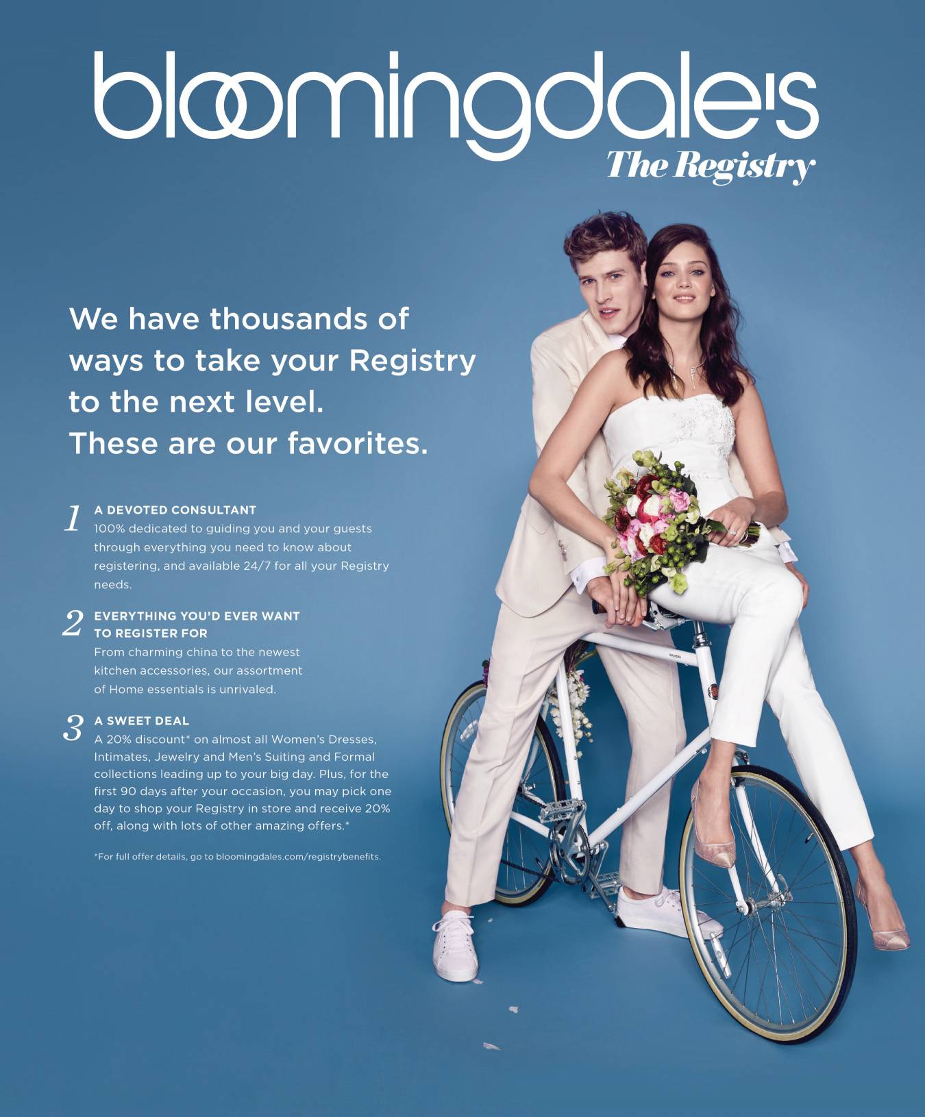 Bloomingdales the registry chicagostyle weddings bloomingdales wedding registry junglespirit Images
