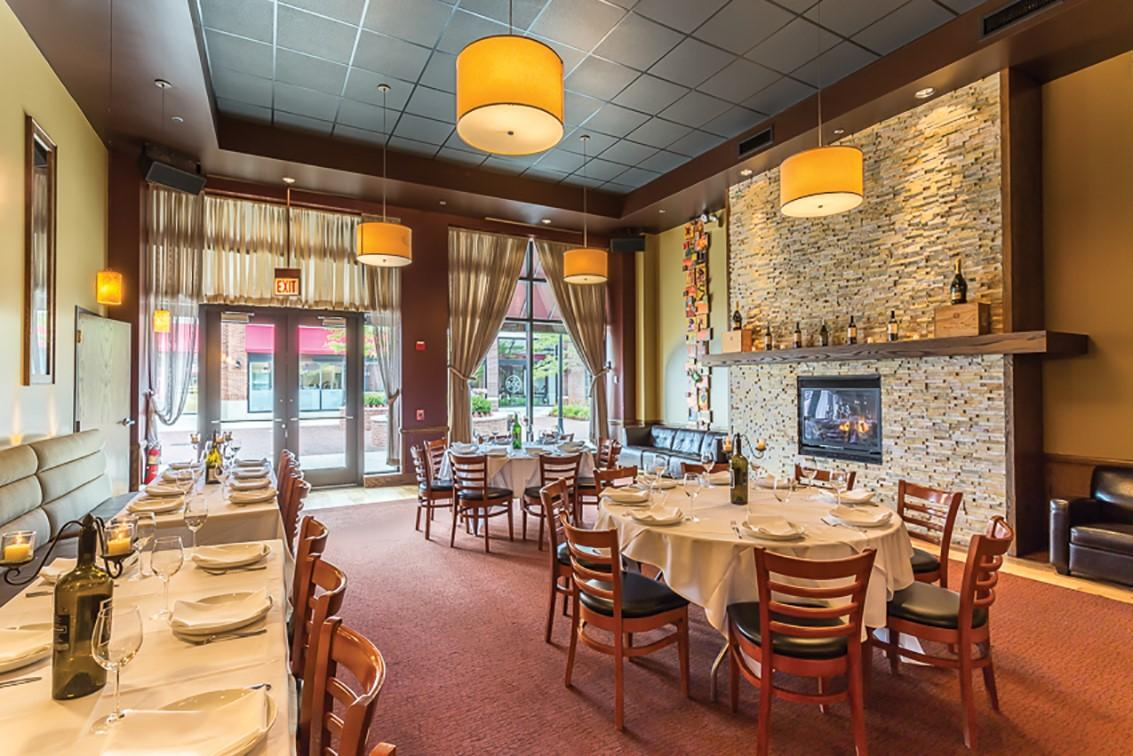 DOC Wine Bar in Lombard, Illinois | Cocktail Style Reception | Rehearsal Dinners