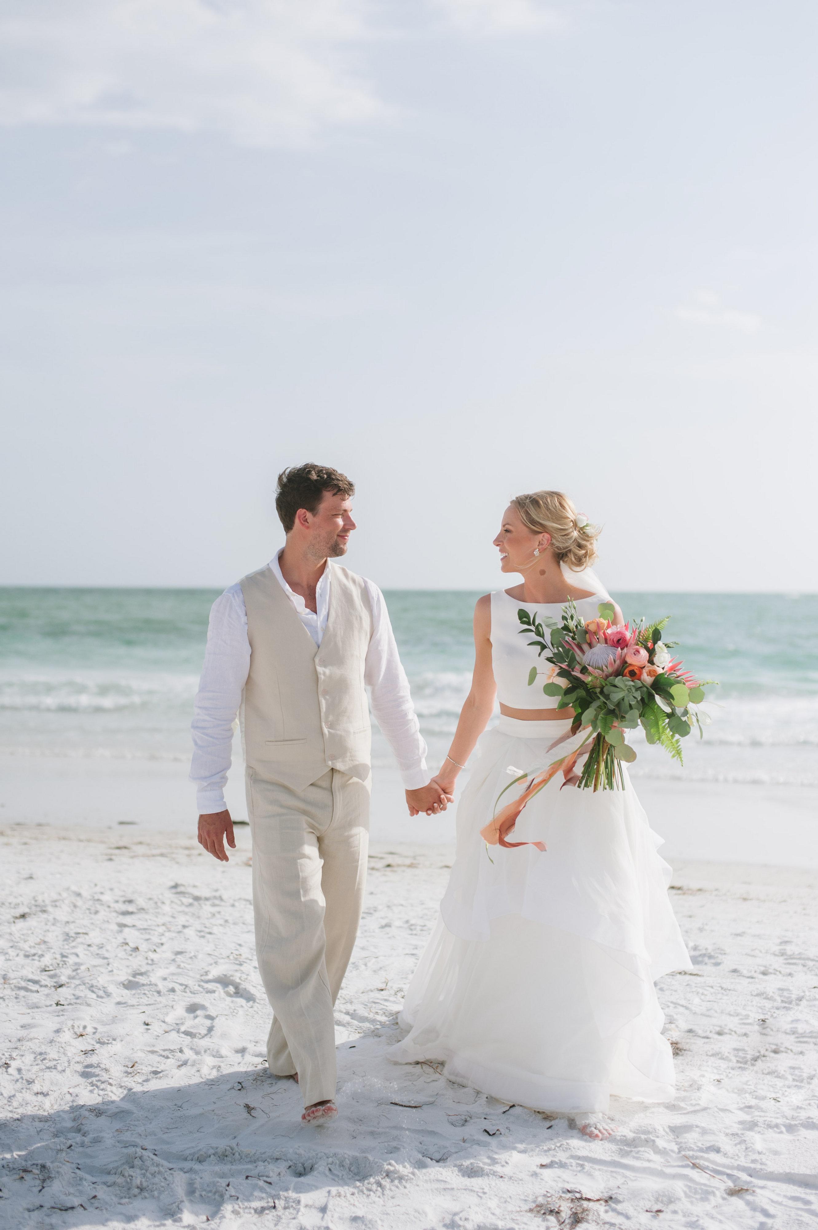 Destination Beach Wedding at Sunset Beach Resort in ...