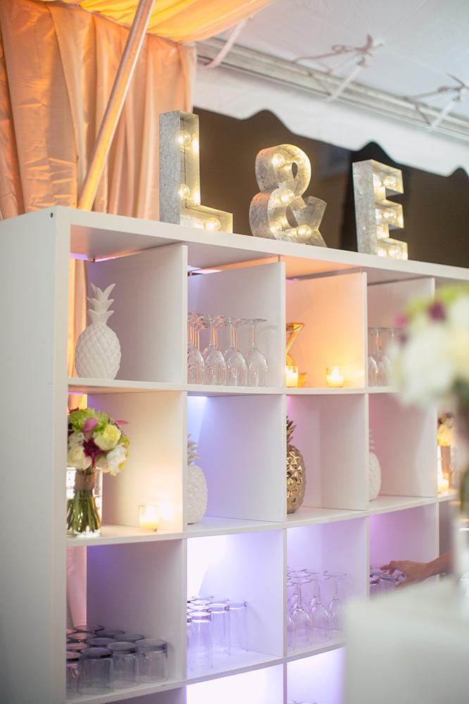 unique wedding decor