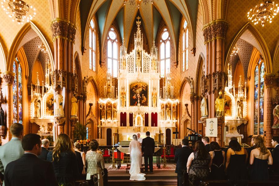 Holy Name wedding