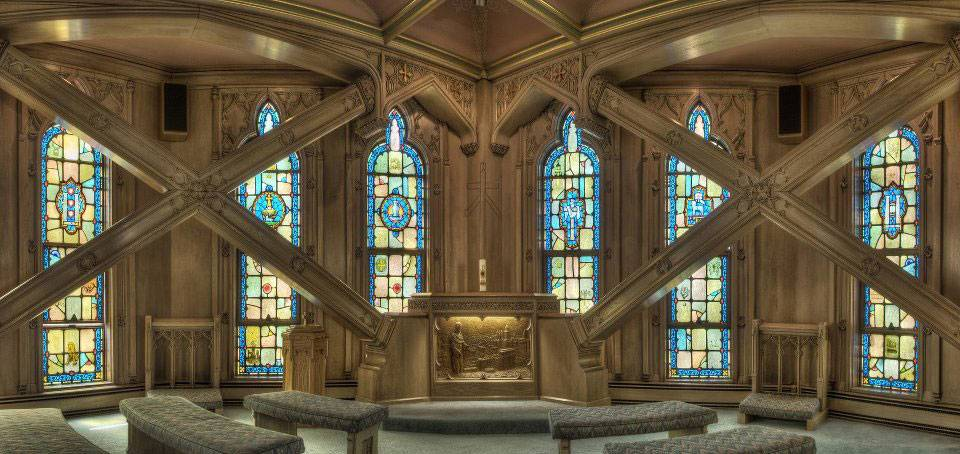 First United Methodist Church at the Chicago Temple in Chicago, Illinois