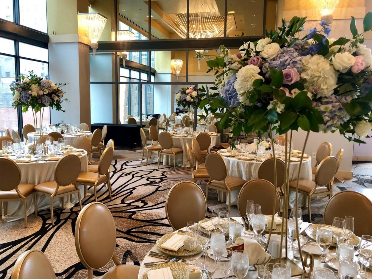 Kimpton Hotel Palomar | Ceremony and Reception | Wedding Venue | Chicago, Illinois