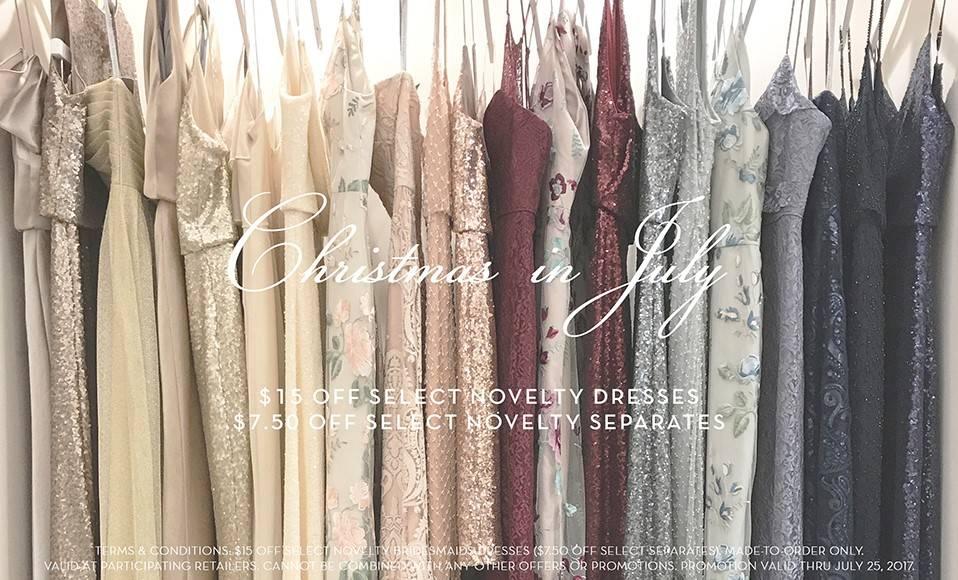 Jenny Yoo Christmas in July Bridal Fashion Sale