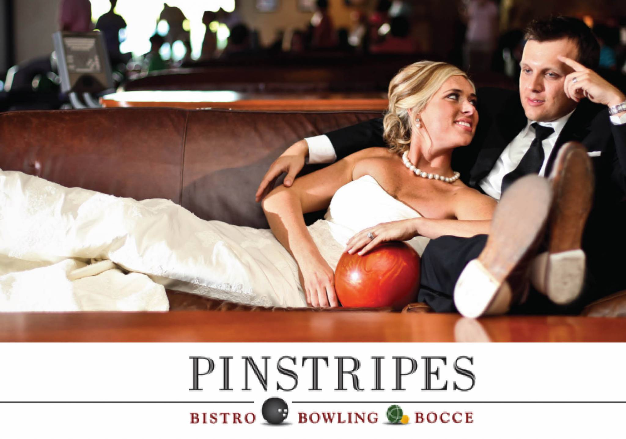 Pinstripes Bocce Bowling - Chicago, Illinois - South Barrington, Illinois - Oak Brook, Illinois - Northbrook, Illinois