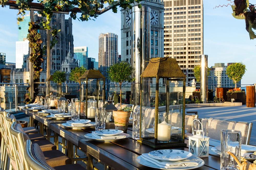 Terrace 16 - Trump Hotels - Chicago, Illinois