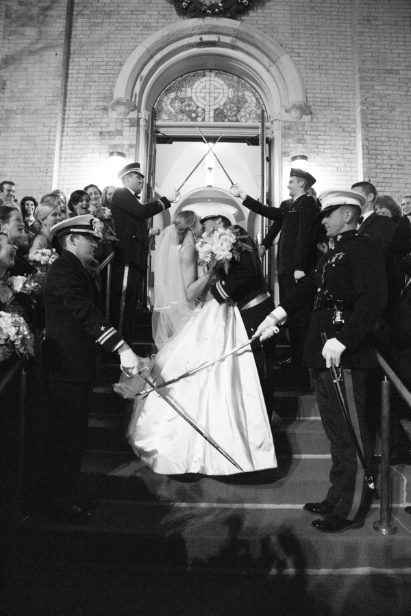 Chicago military wedding