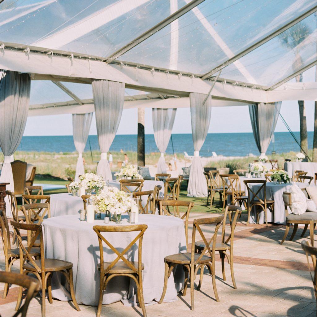 Ceremony Magazine L Auberge Seaside Wedding: Wedding Reception Ideas Curated By The Celebration Society