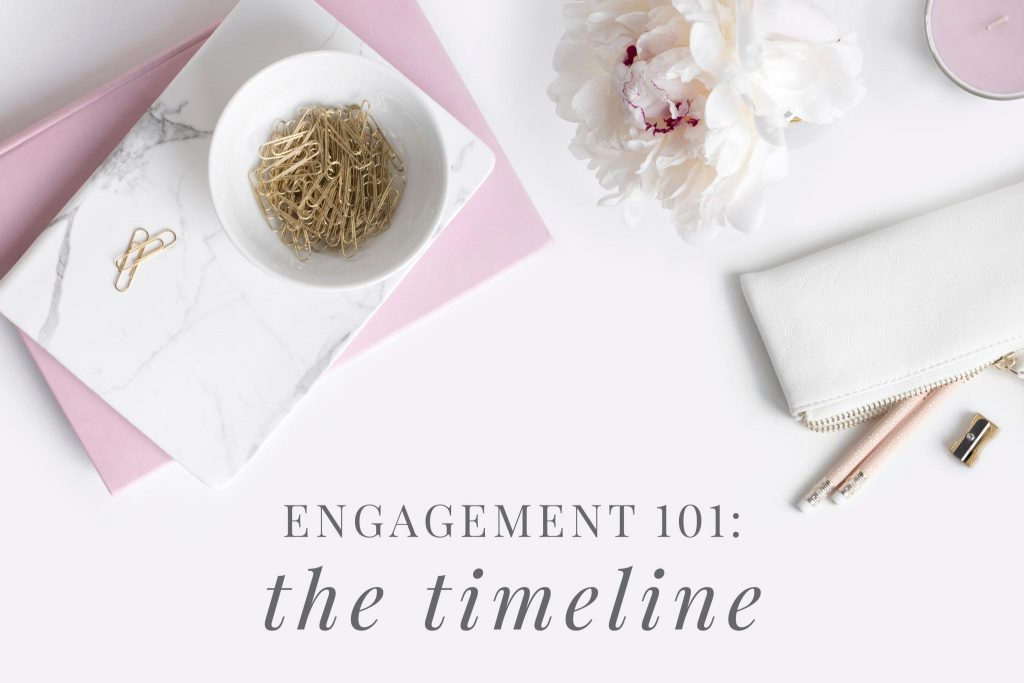 Engagement 101 - the timeline