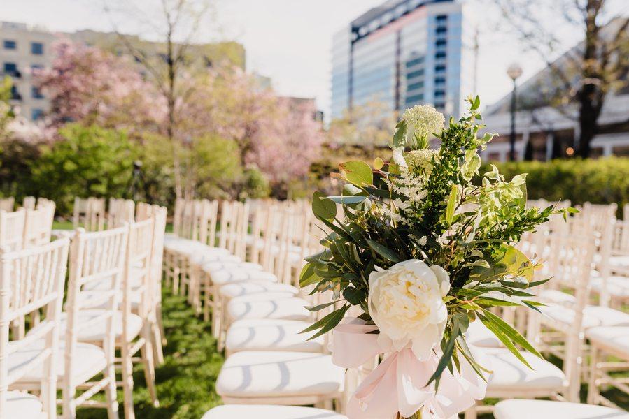 outdoor Chicago wedding