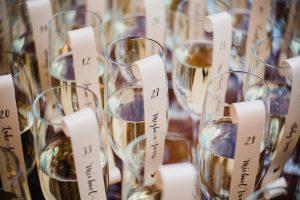 wedding placecard drinks