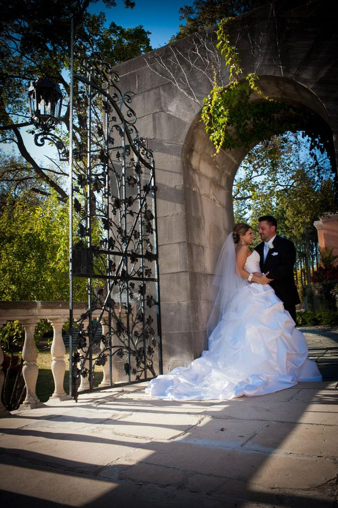 Loyola at Cuneo Mansion and Gardens in Vernon Hills, Illinois