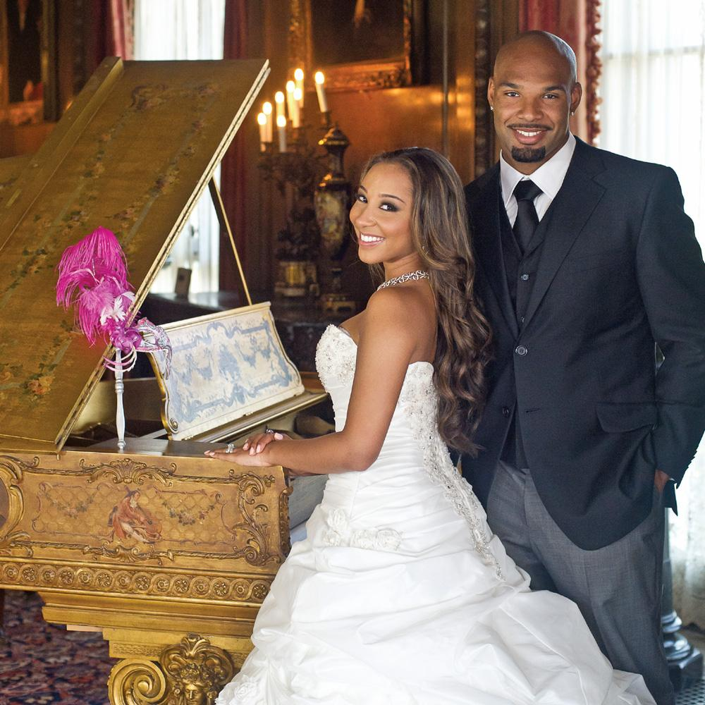 Danielle Daniels and Matt Forte Wedding