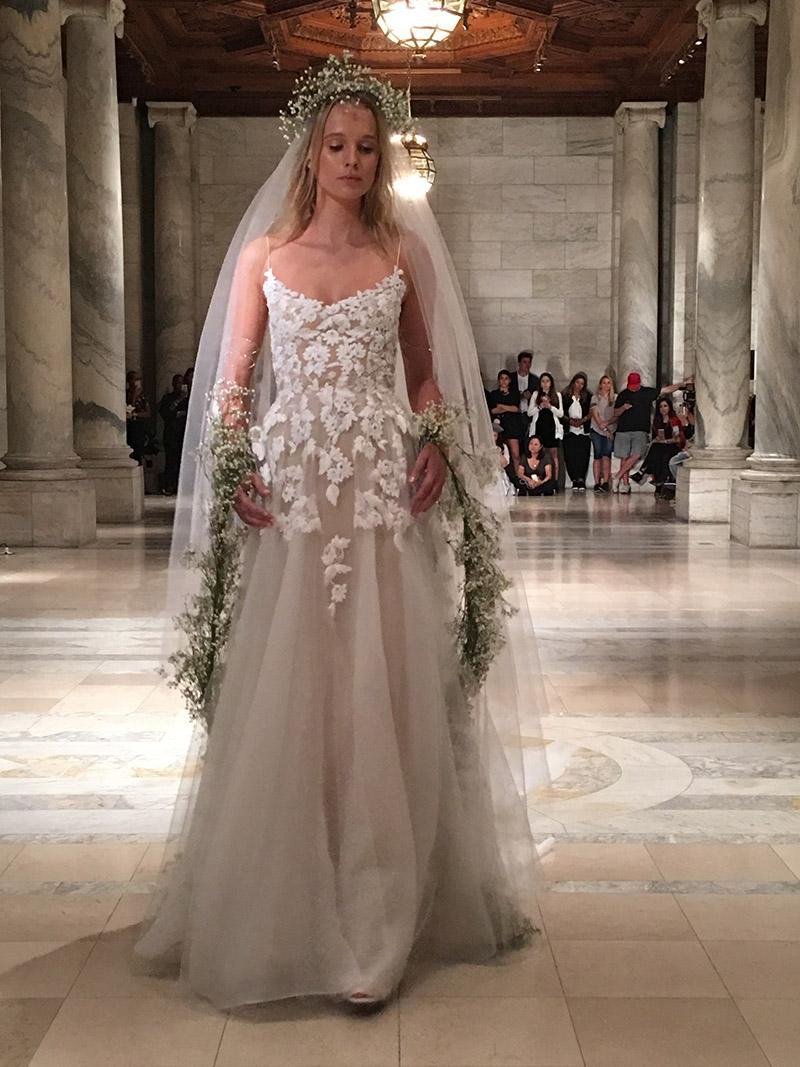 Reem Acra - NY Bridal Fashion Week - October 2017