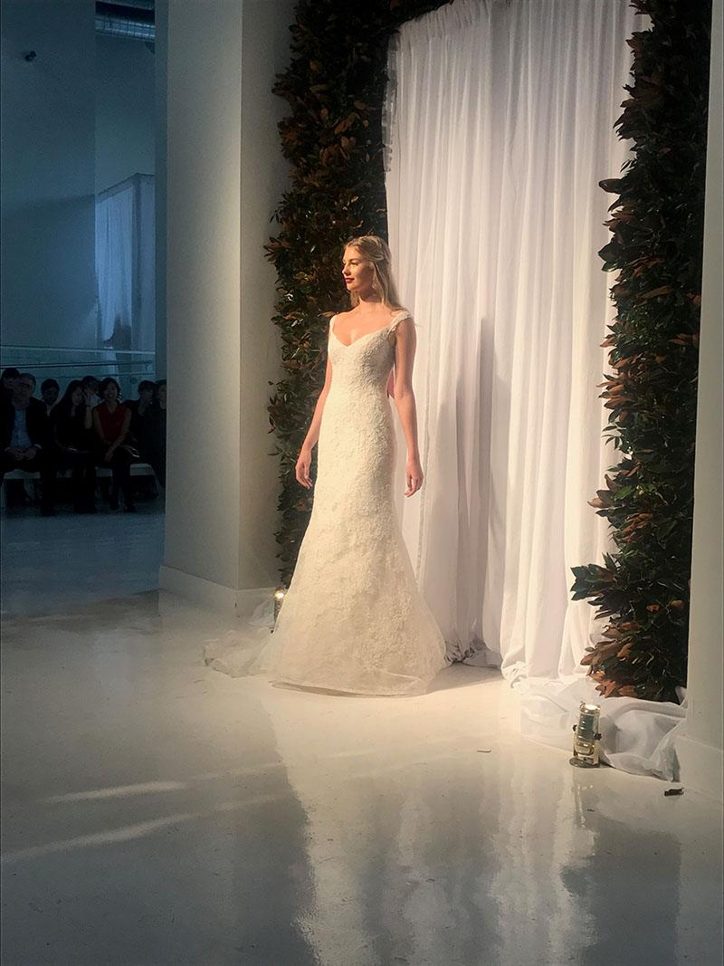 Anne Barge - NY Bridal Fashion Week - October 2017