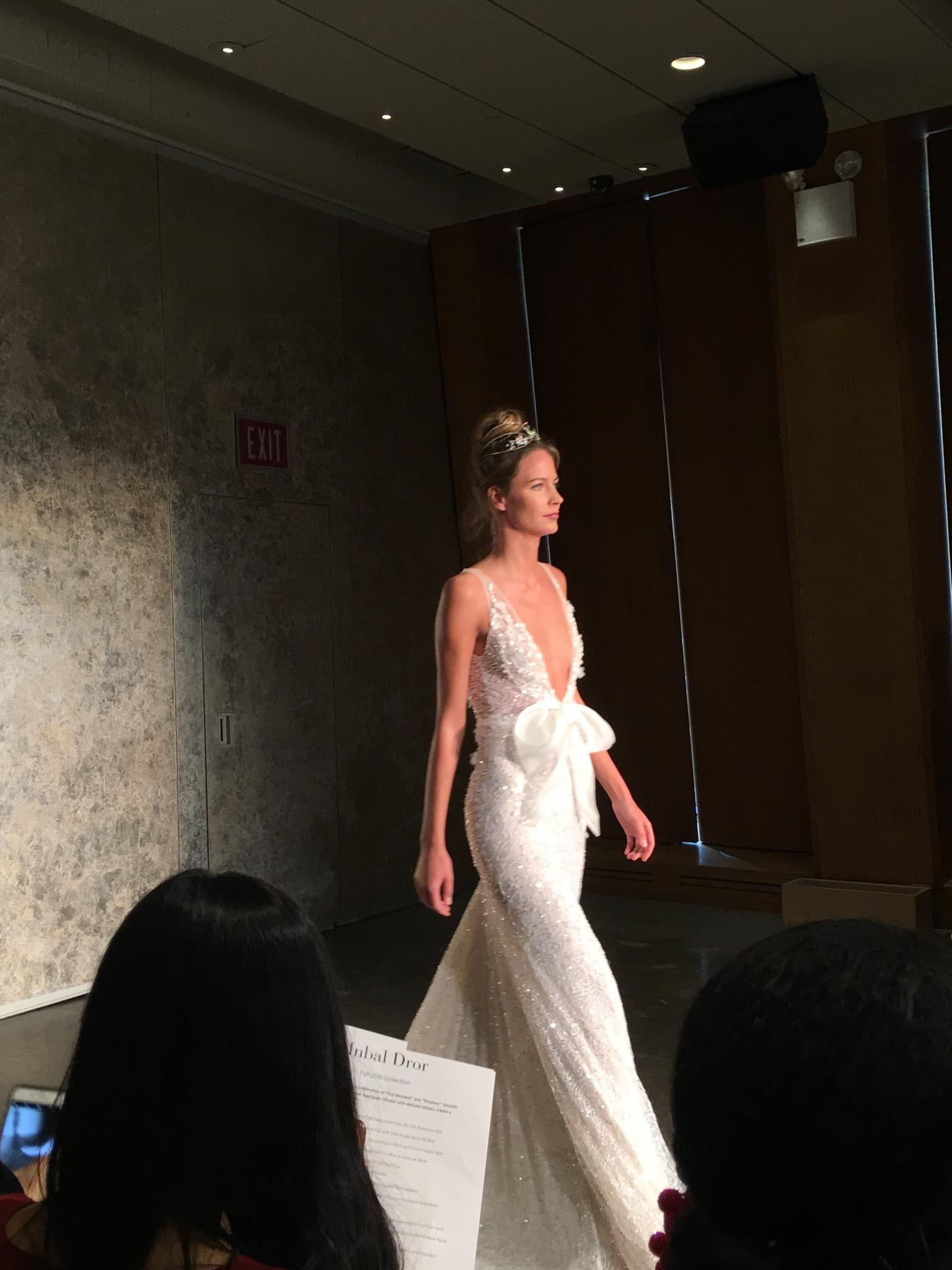 Inbal Dror NY Bridal Fashion Week - October 2017